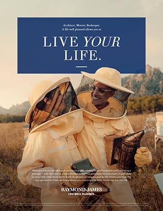 Beekeeper Print Ad