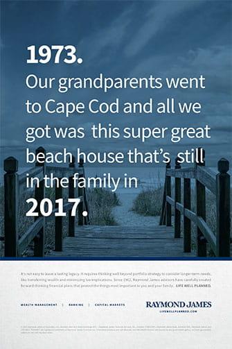 Cape Cod Print Ad