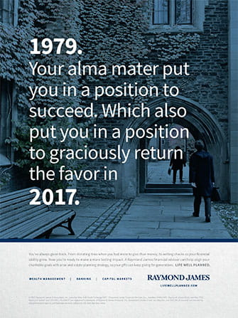Alma Mater Print Ad