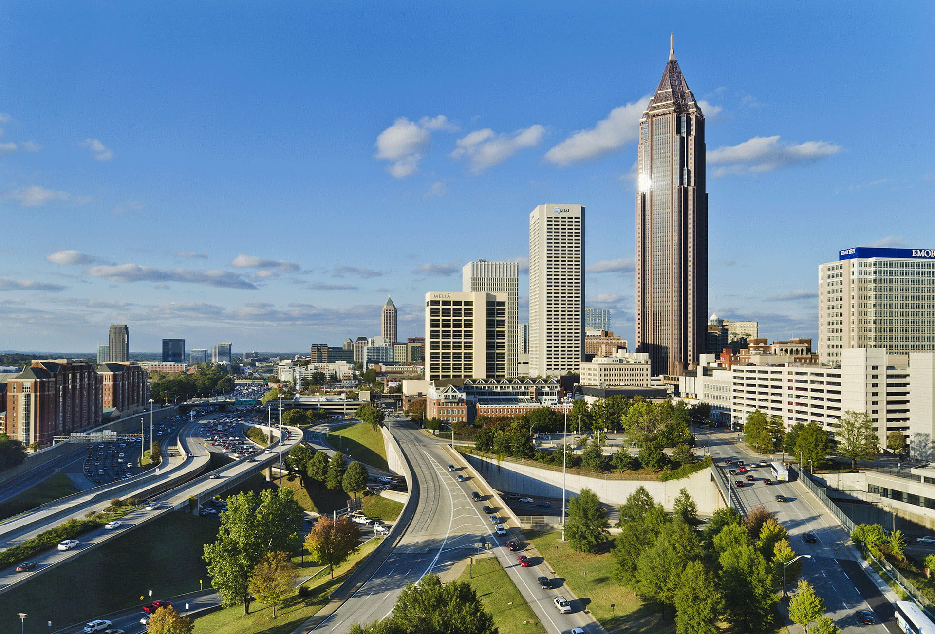 Atlanta Interstate Skyline