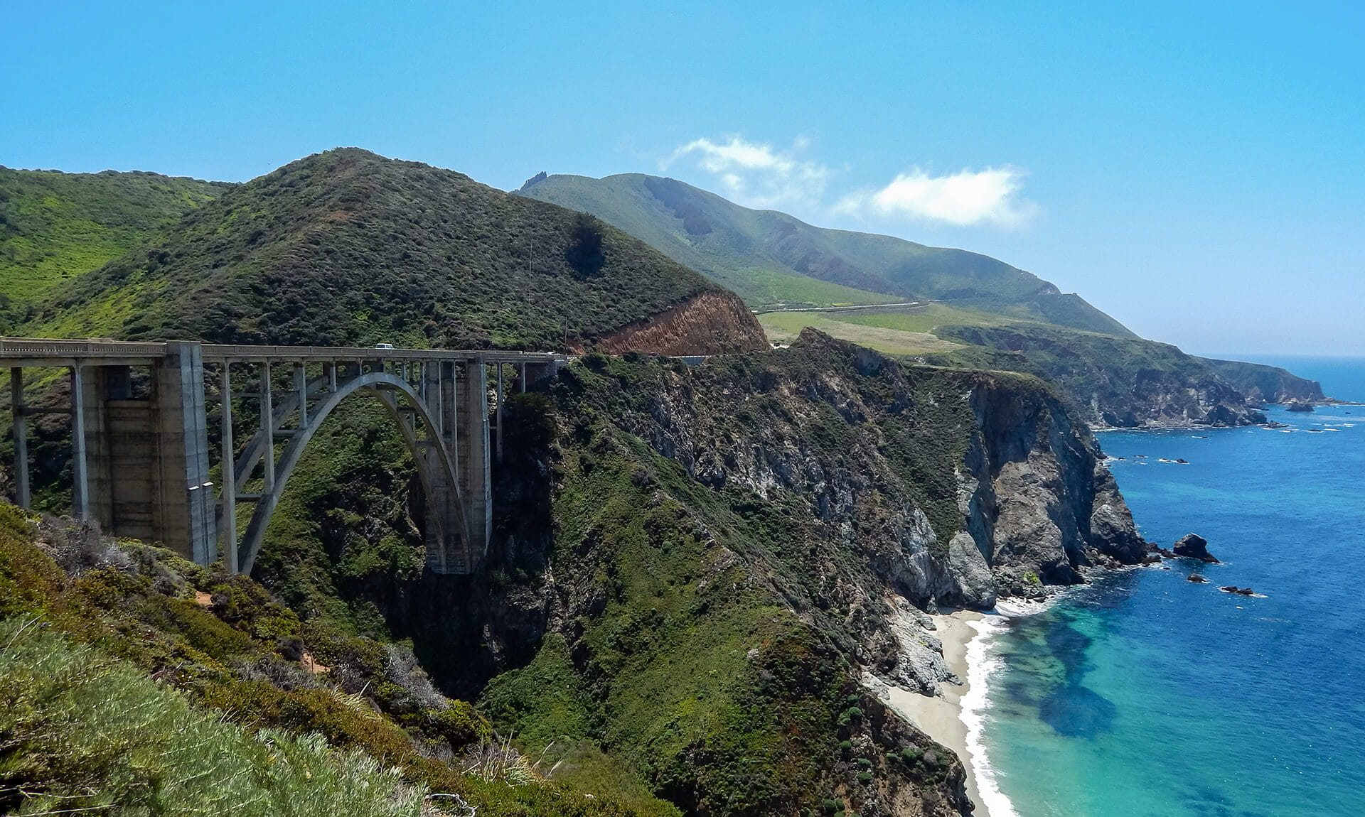 Bixby Creek Bridge, California