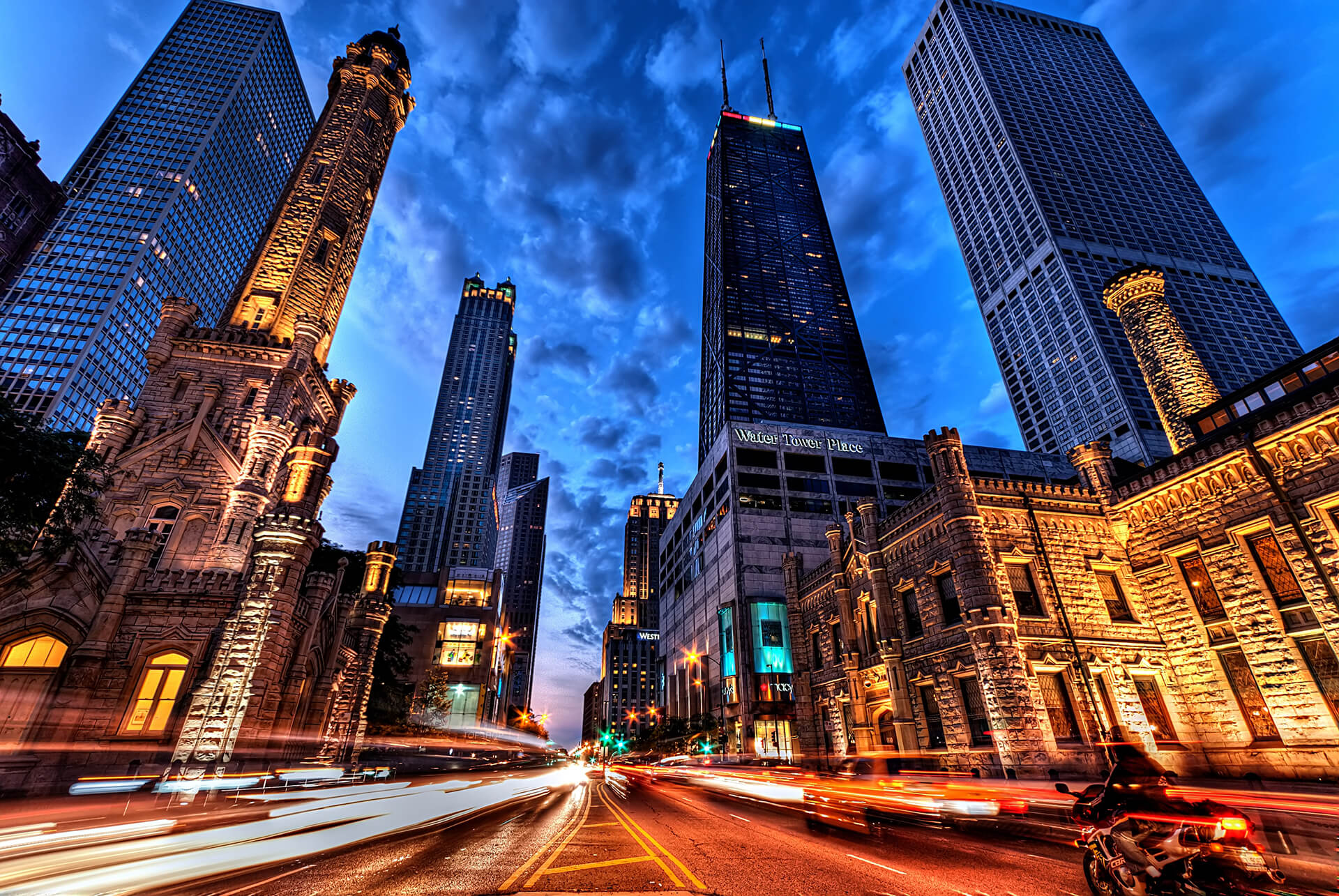 Magnificent Mile, Chicago at Night