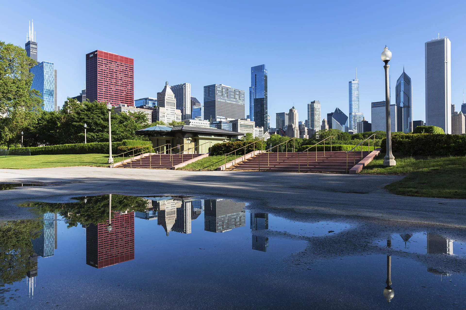 Chicago, Millennium Park and Skyline