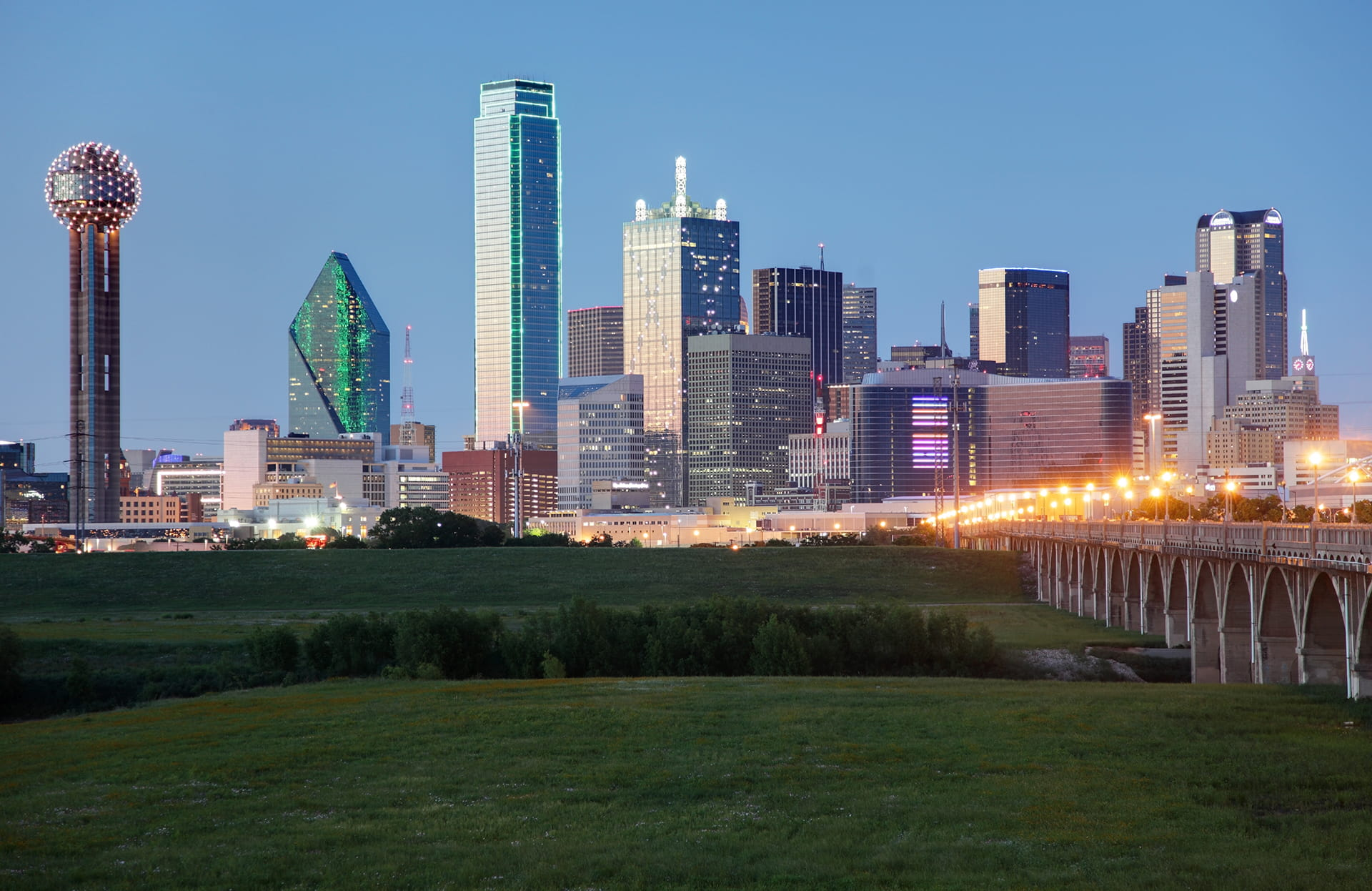Dallas Park Skyline