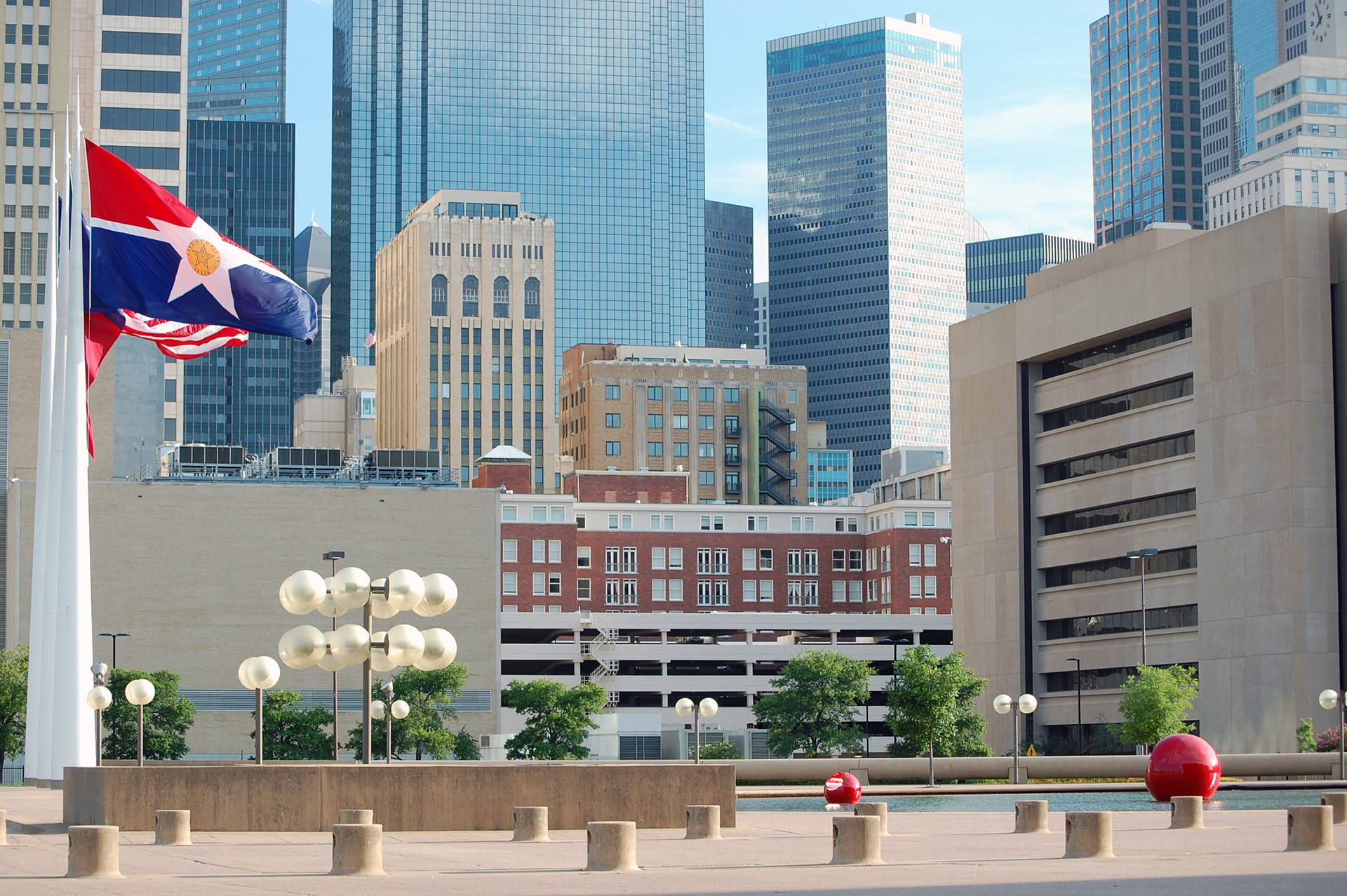 Dallas City Hall Square