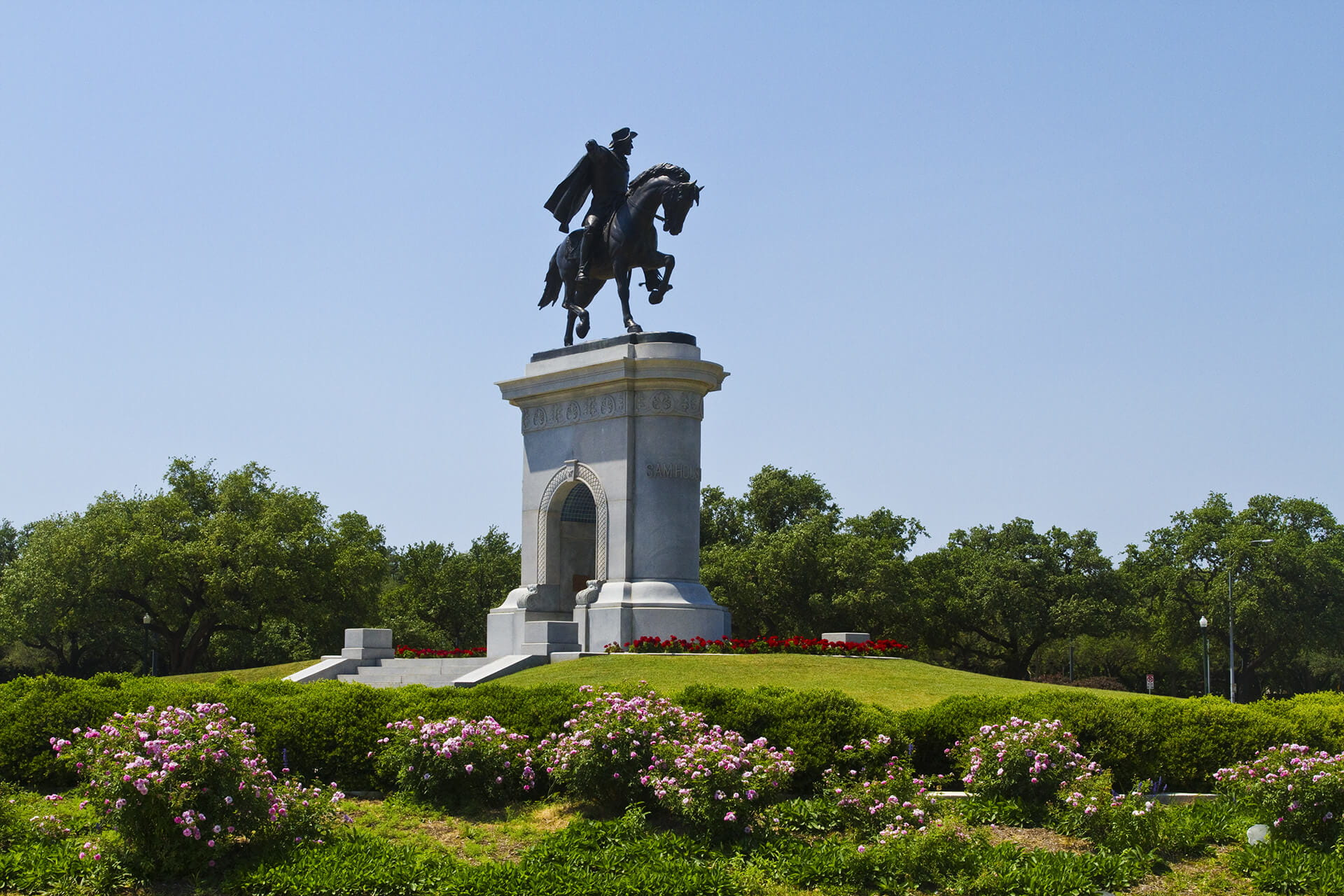 Sam Houston Statue in Houston, Texas