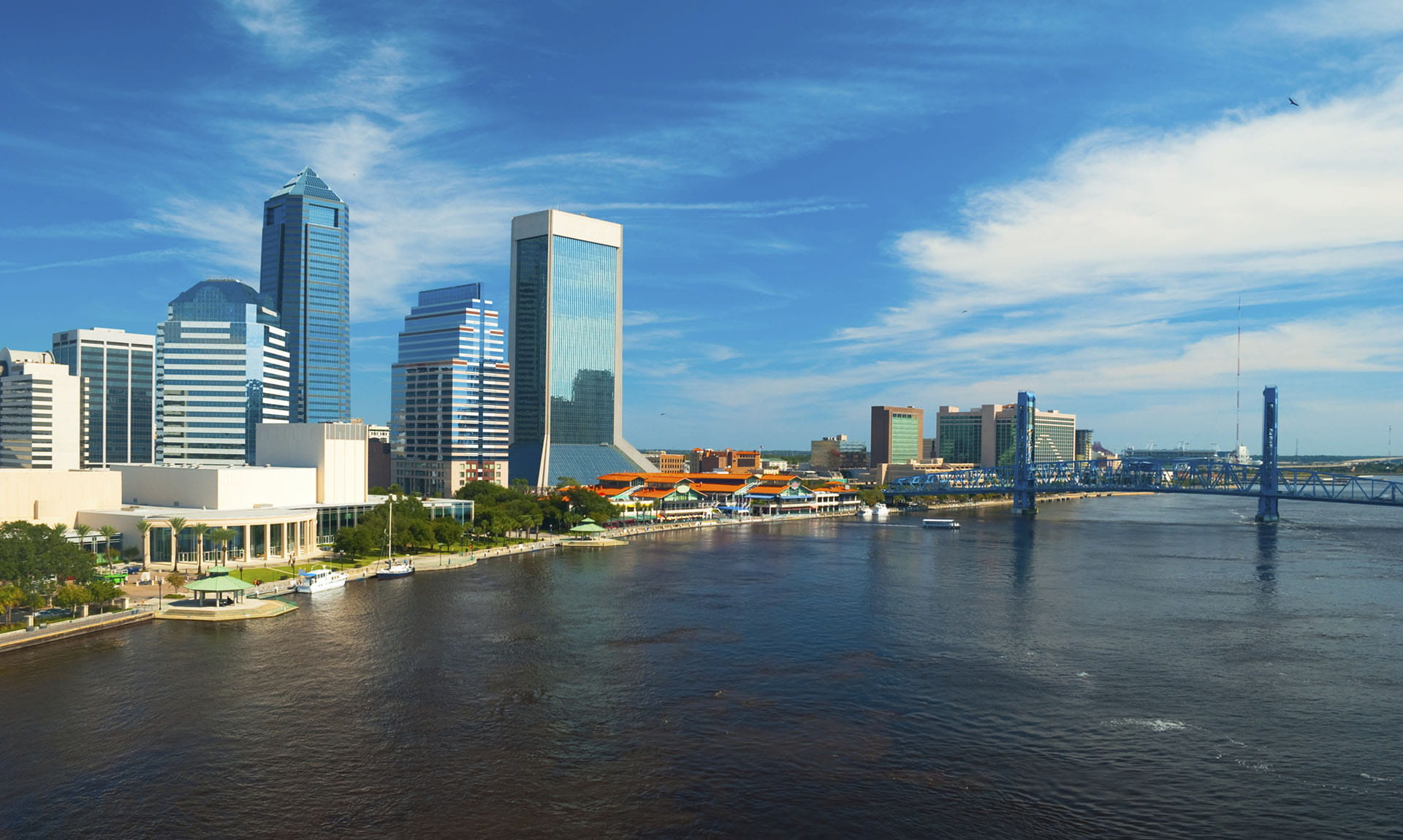 Jacksonville Cityscape Waterfront