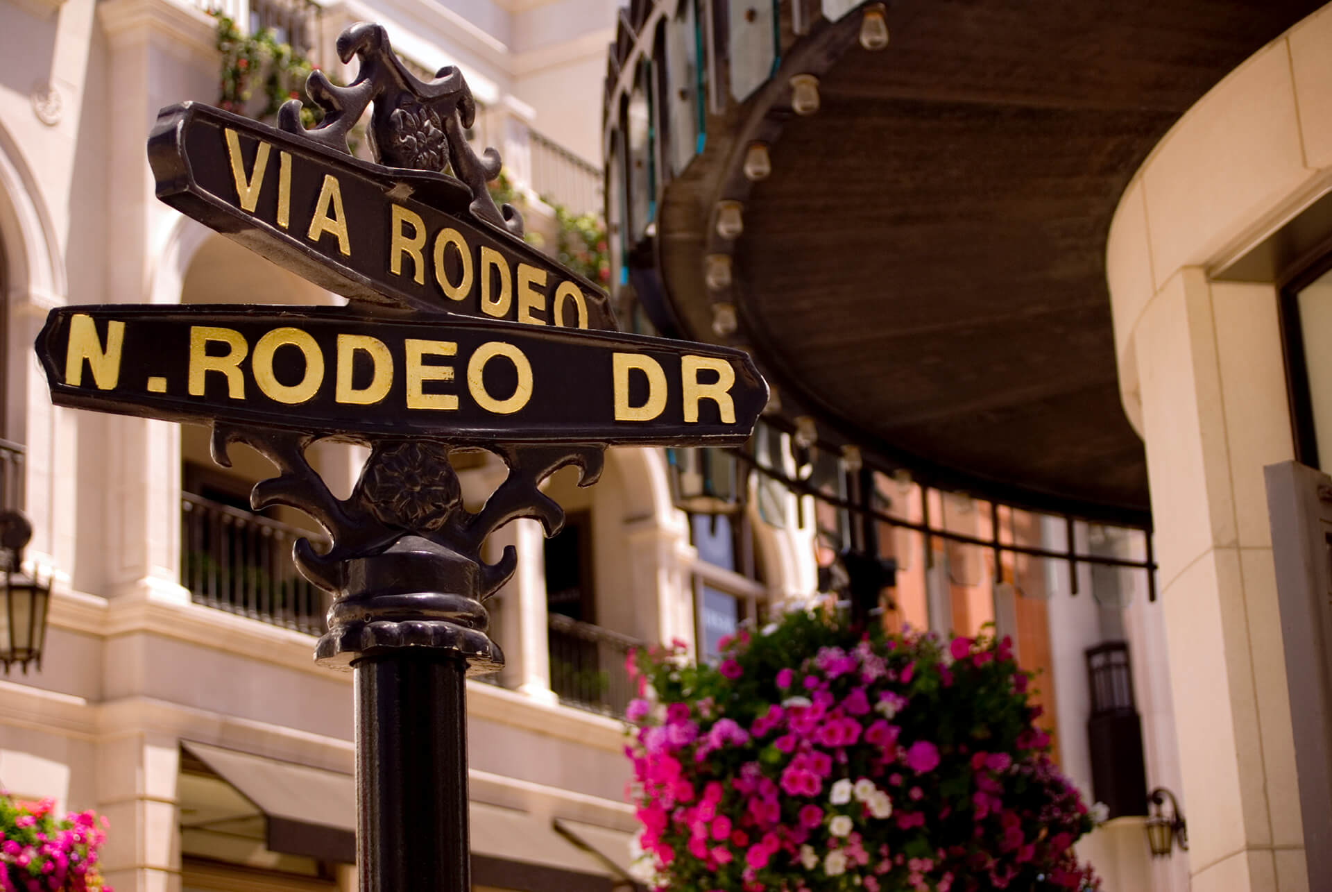 N Rodeo Dr. Street Sign