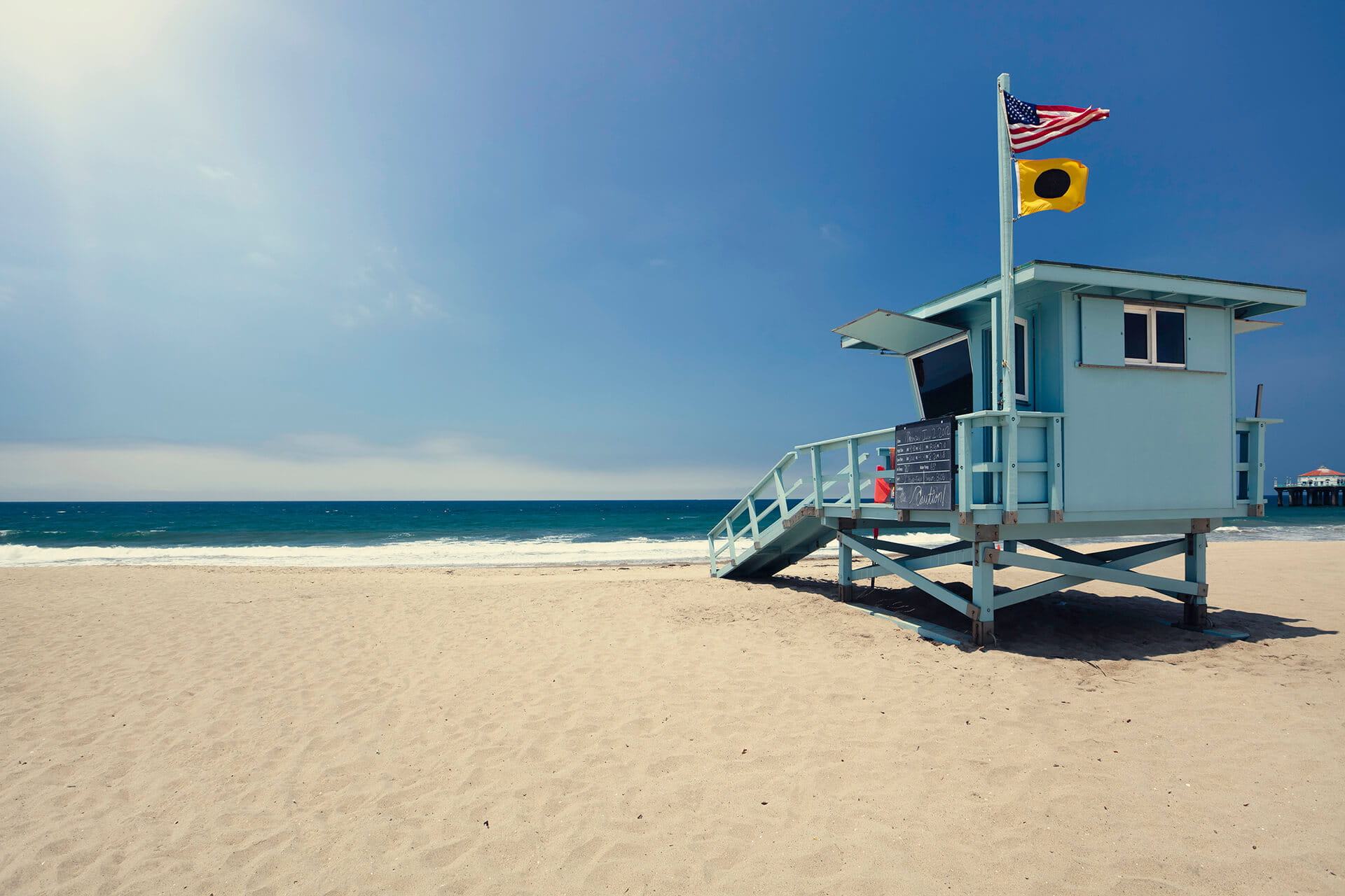 Los Angeles Lifeguard Tower