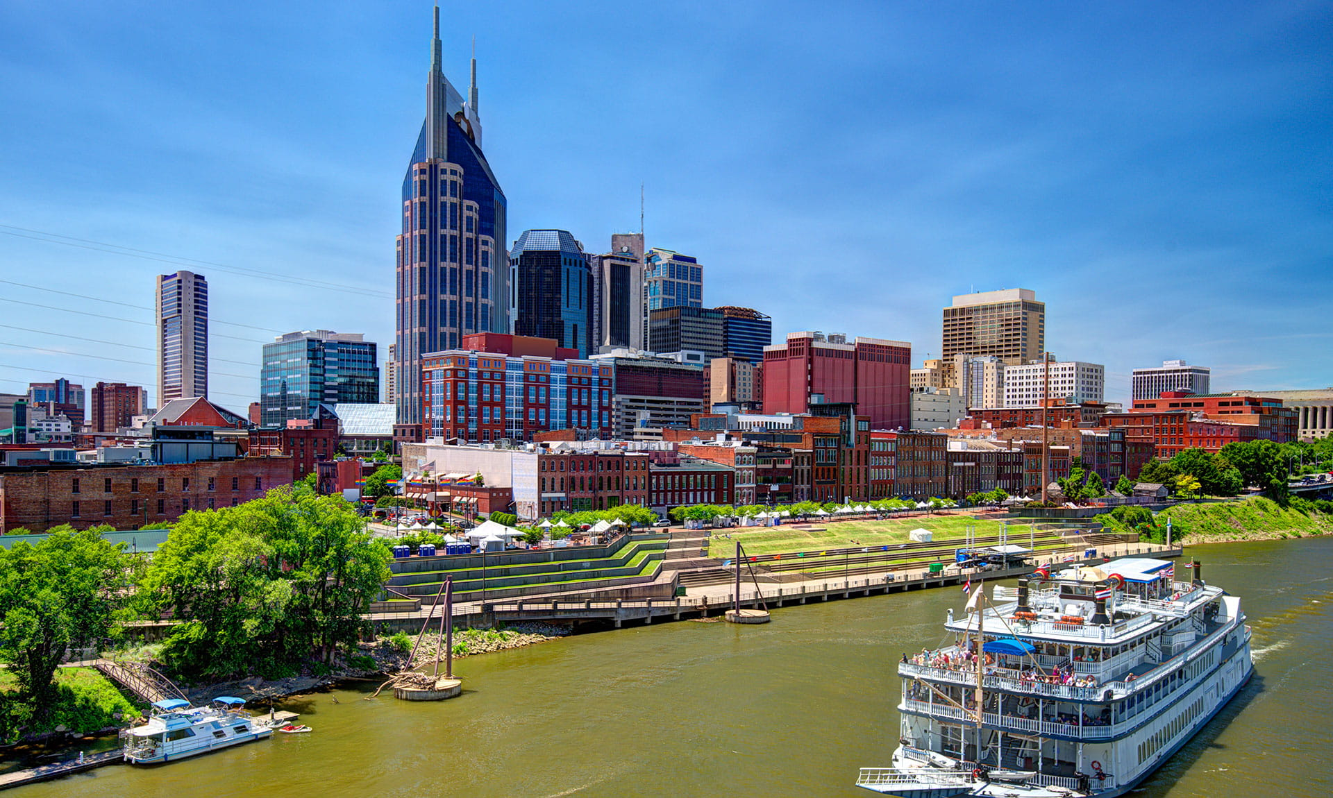 Tennessee Dock Cityscape