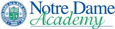 Notre DDame Academy Logo on Green Bay Community page