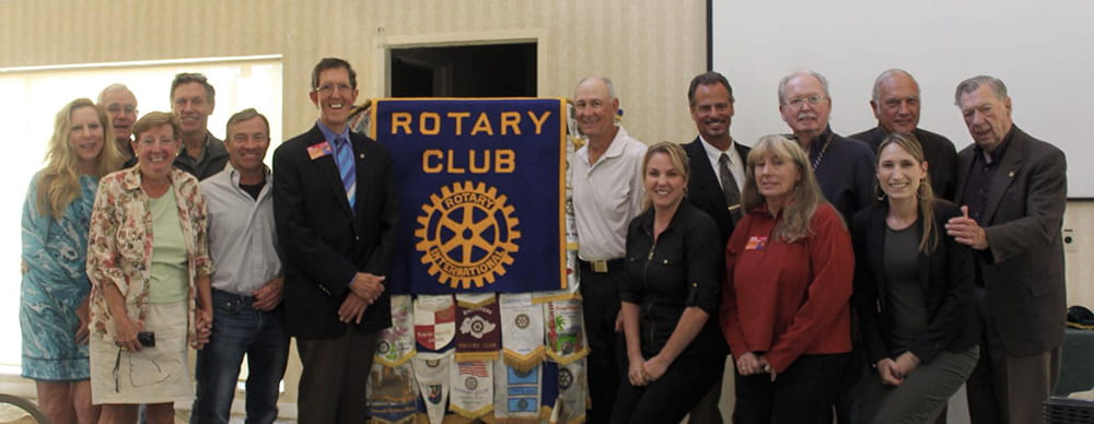 2018-2019 Capitola-Aptos Rotary Board of Directors with the District Governor
