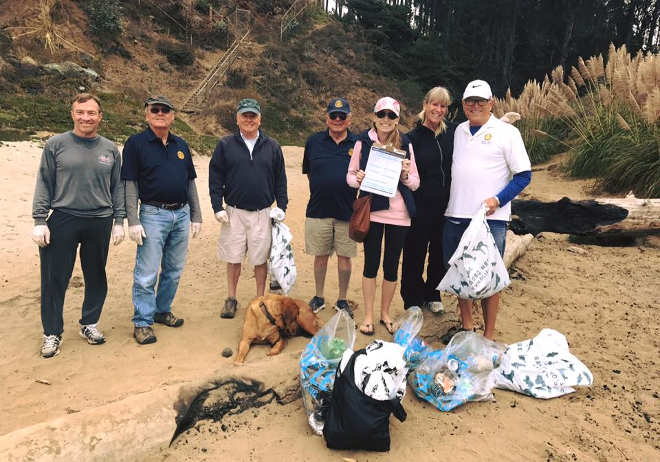 Beer Can Beach Cleanup, partnered with Save Our Shores. Sept. 2017