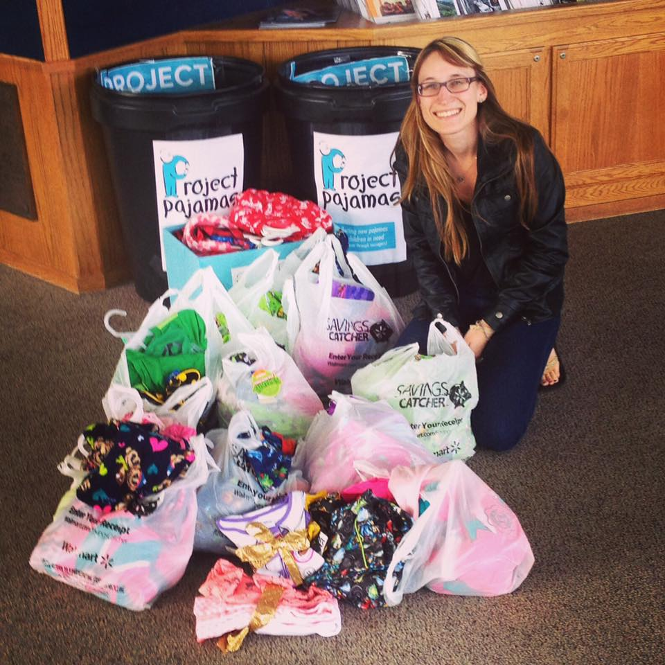 Kendra took the reins for Capitola-Aptos Rotary Club's donation to Project Pajamas. The goal of Project Pajamas is to provide a new pair of PJ's to every child in a homeless shelter or other form of emergency housing in Santa Cruz County.