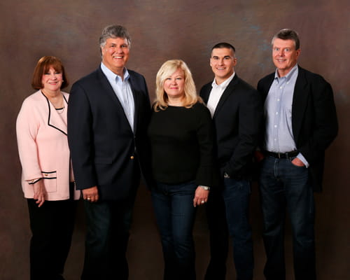 Dukovich Financial Team Photo