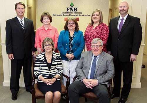 FNB Investments Services team photo
