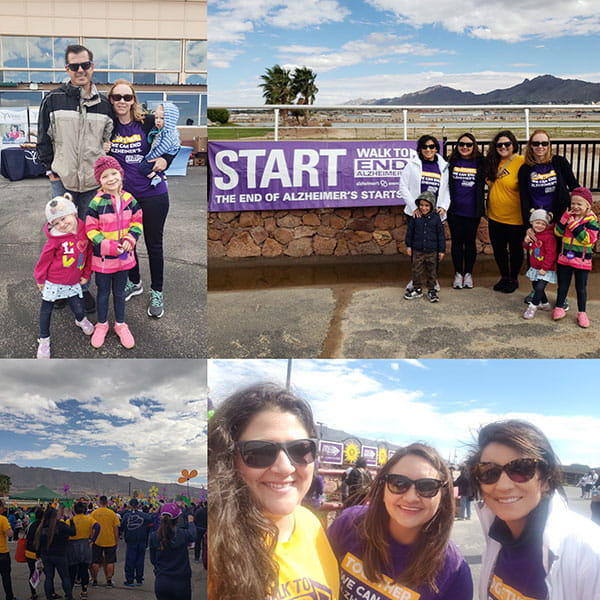 Alzheimer's Walk October 2018