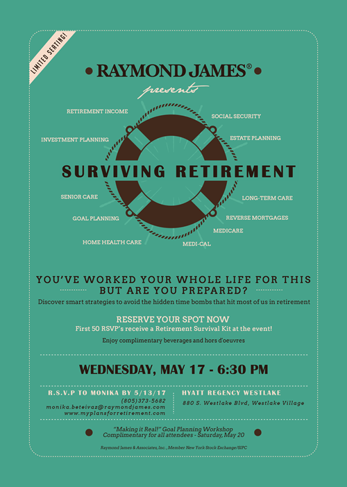 May Surviving Retirement Event