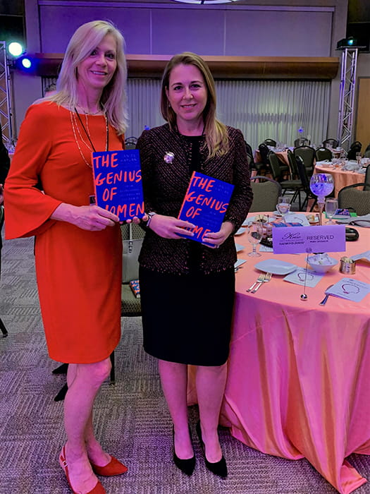Danielle and Laura at CHOICES 2020