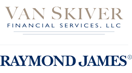 Van Skiver Financial Services, LLC and Raymond James co branded logo