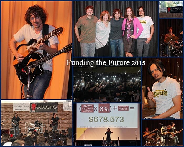 Funding the Future Collage