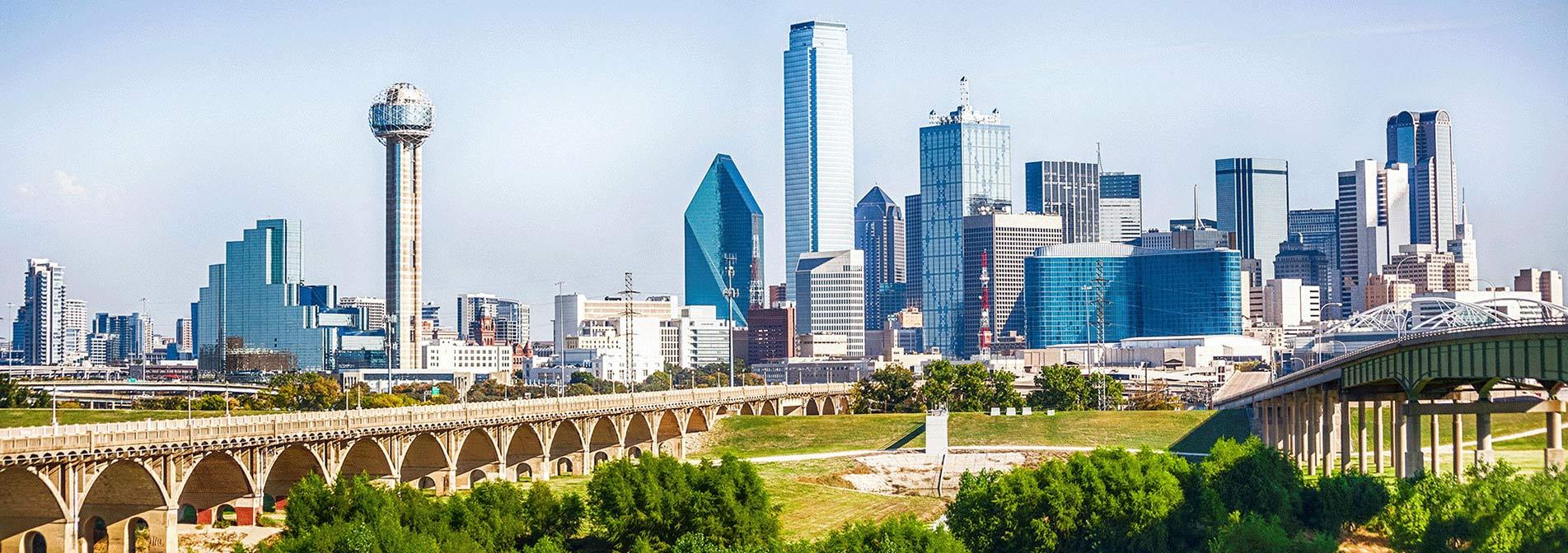 Dallas City Skyline Photo