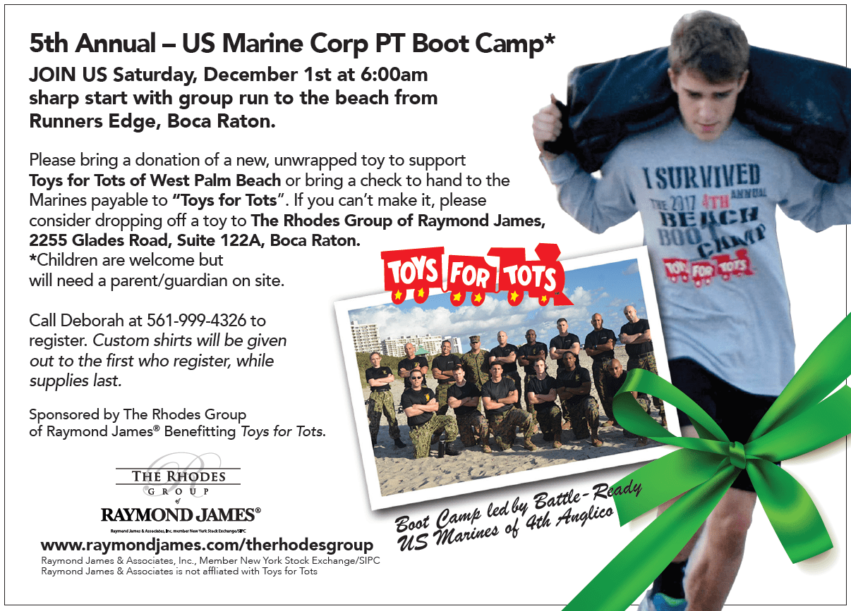 5th Annual USMC BootCamp Flyer