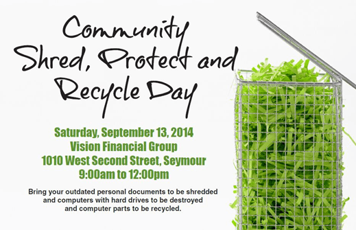 2014 Community Shred Day
