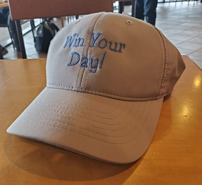 Win Your Day Hat