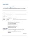 Year-End Tax Planning Worksheet