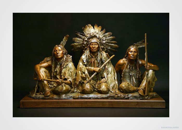 Coleman - 1876 - Gall, Sitting Bull, and Crazy Horse