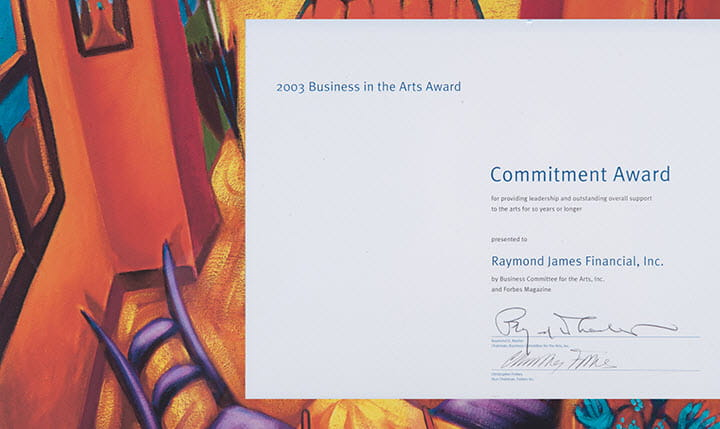 2003 Business Award