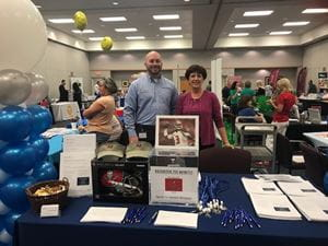 Mike and Linda at HOPE Expo