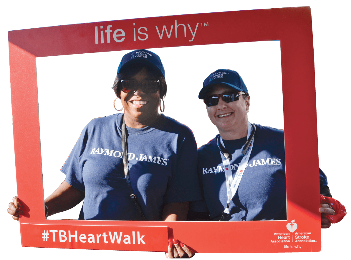 American Heart Association Heartwalk Participants