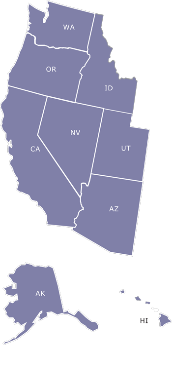 west region map