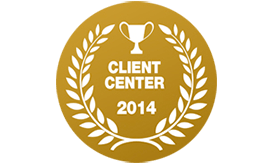 Client Center award