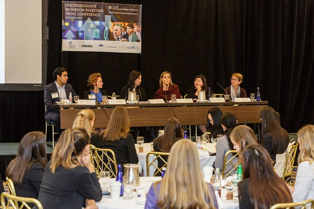 Women in Investing conference