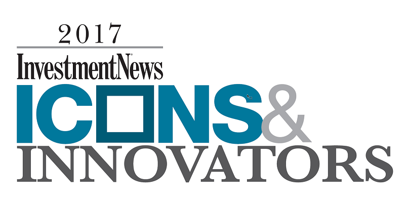 "Tom James is a 2017 Investment News ""Icon & Innovator"""