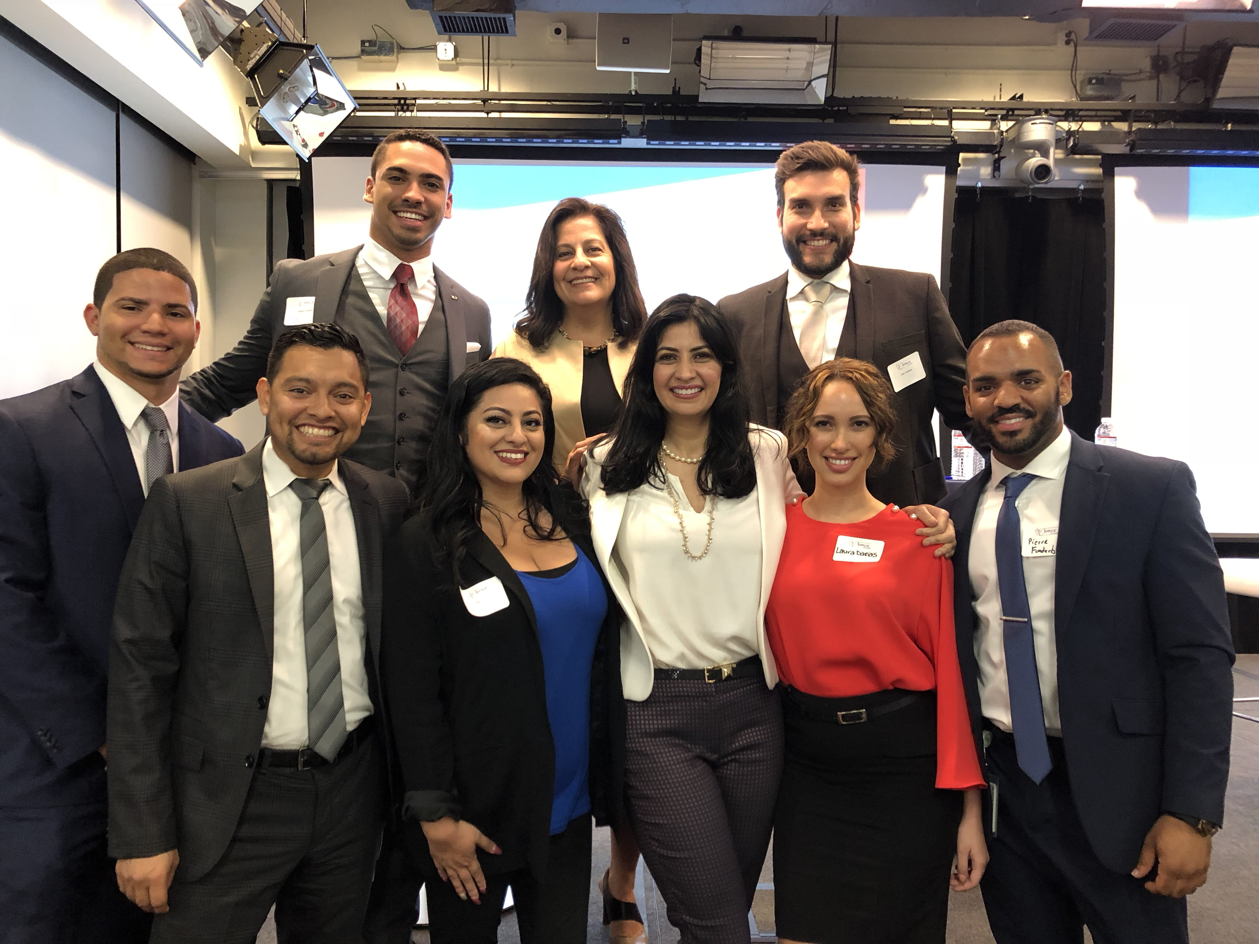 Raymond James associates attend a Women of ALPFA (Association of Latino Professionals For America) event.