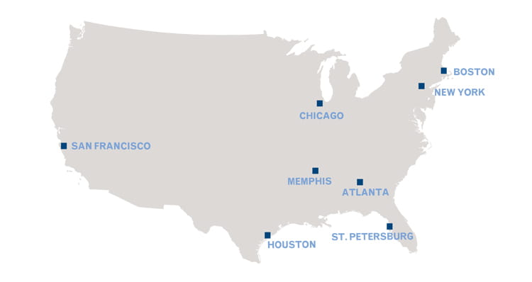 Equity research careers map location