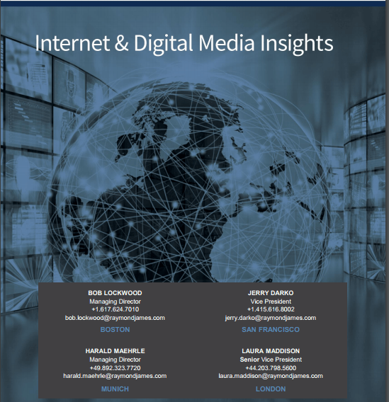 internet and digital media monthly