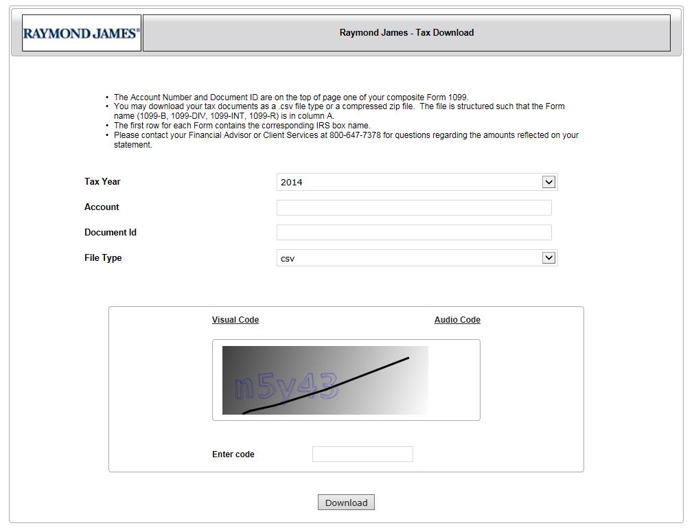 Raymond James Turbotax Users