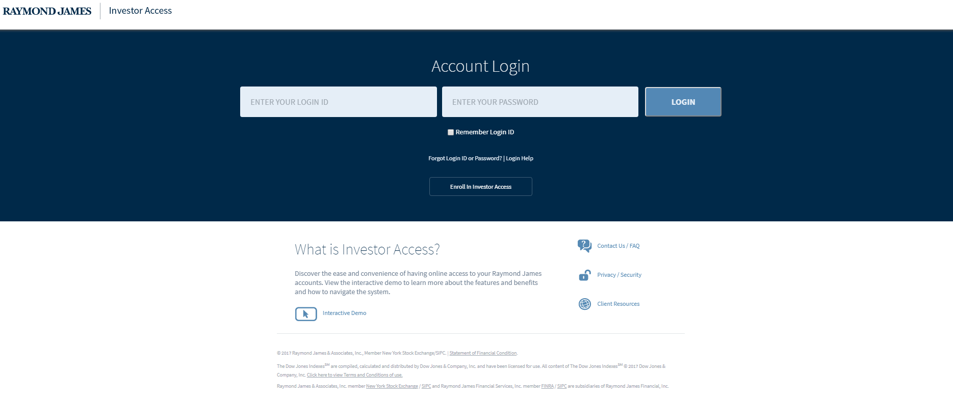 Raymond James | Investor Access | Enhancements