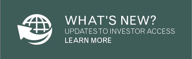 What's New in Investor Access