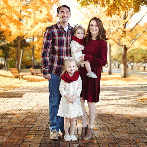 Shelby Holt Family Picture
